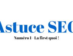 Astuce SEO - By Joptimisemonsite
