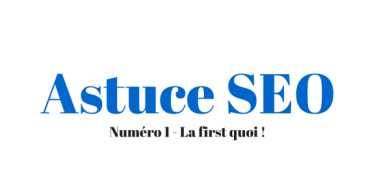 Astuce SEO - By Joptimisemonsite