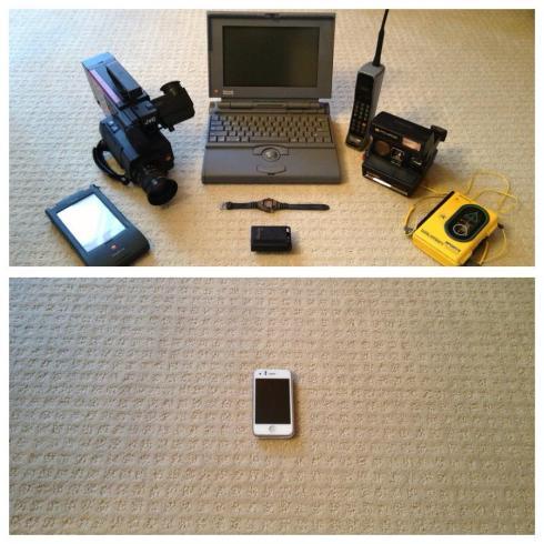 Technology in 1993 vs technology in 2003