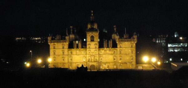 schotland avond kasteel