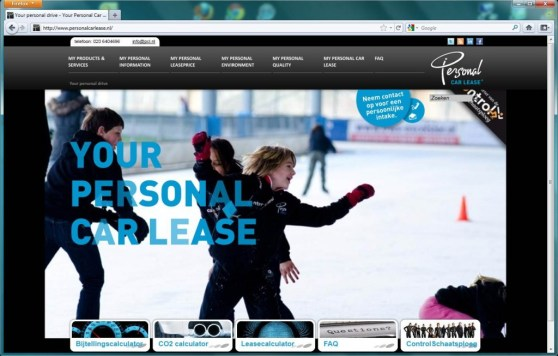 pcl.nl homepage screenshot juichend