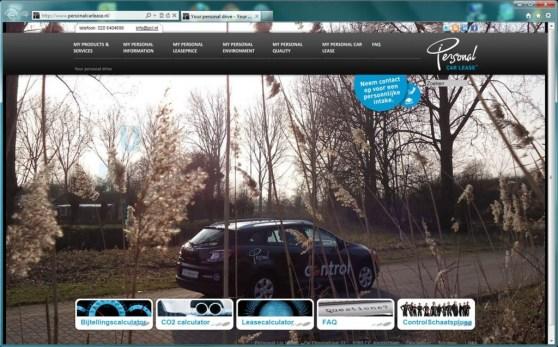pcl.nl homepage screenshot control auto