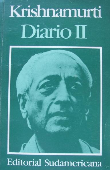 Diario de Krishnamurti 2