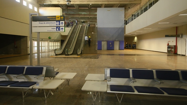 Instalações internas do novo terminal | Foto: divulgação Secom