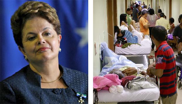 Dilma Roussef impõe ajuste fiscal com medidas duras, enquanto a saúde pública vai de mal a pior no País | Foto: Roberto Stuckert Filho/ PR