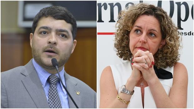 Ao não fazer uma crítica qualitativa à secretária da Fazenda, Henrique Arantes travou o debate
