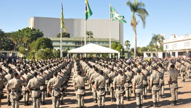 Marconi anuncia concurso para Polícia Civil e convocação de excedentes da PM