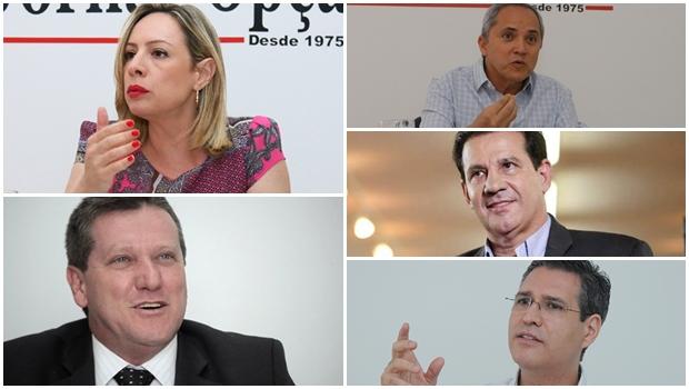Qualis sugerem que eleitor goianiense pensa em Vanderlan, Vecci, Francisco, Bittencourt e Adriana