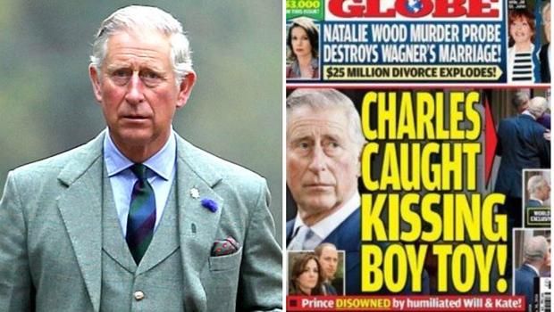 Príncipe Charles é gay e tem amante ninfeto, diz tabloide