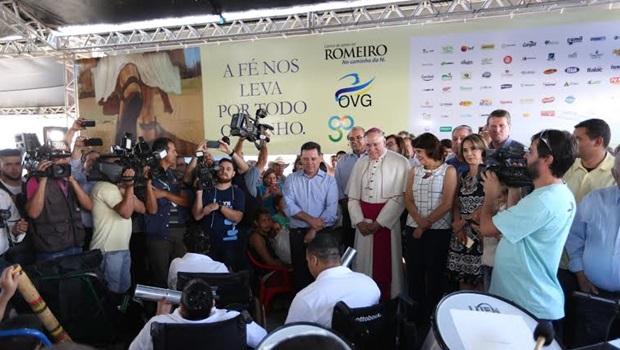 Governador abre oficialmente Centro de Apoio ao Romeiro