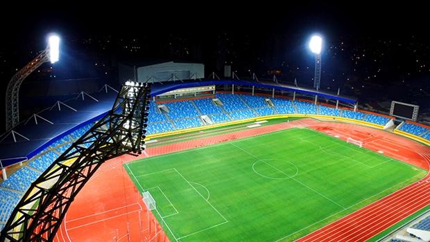 Estádio Olímpico recebe primeira partida oficial