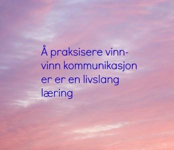 Vinn-vinn kommunikasjon