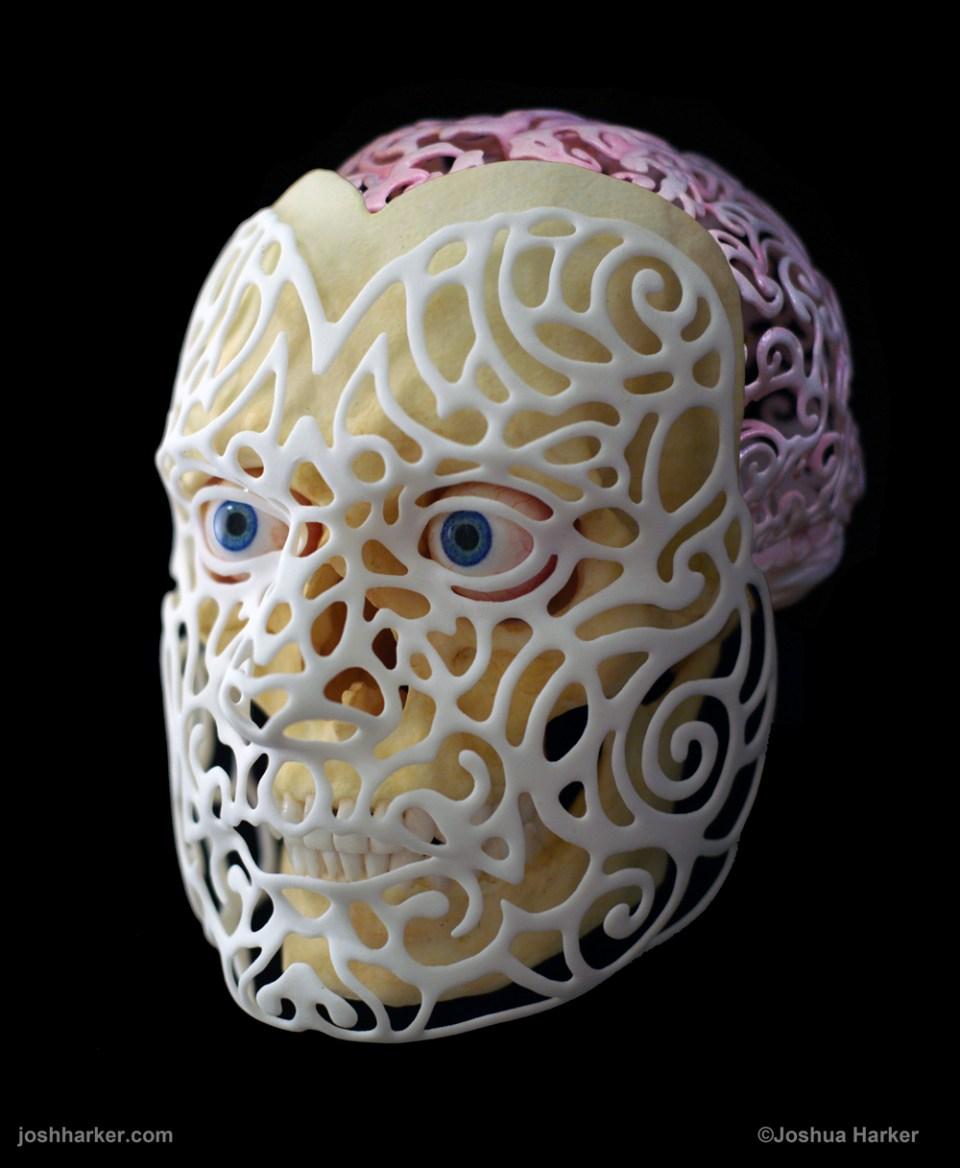 3D printed 21st Century Self-Portrait (2014)