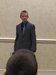 Austin Delivering His Speech