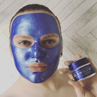 GLAMGLOW X SEGA: Limited Edition Sonic Blue Gravitymud