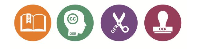 OER schools icons