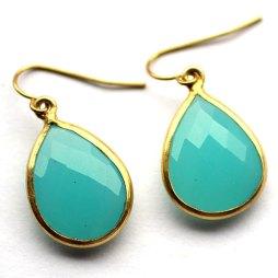 aqua-blue-bezel-earrings-handmade-jewelry-gold