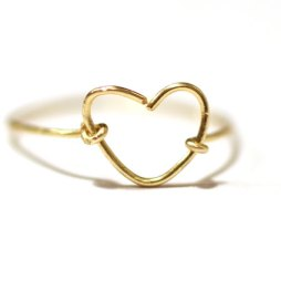 gold-wire-heart-ring-handmade-jewelry