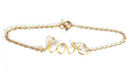 handmade-gold-love-wire-bracelet-jewelry