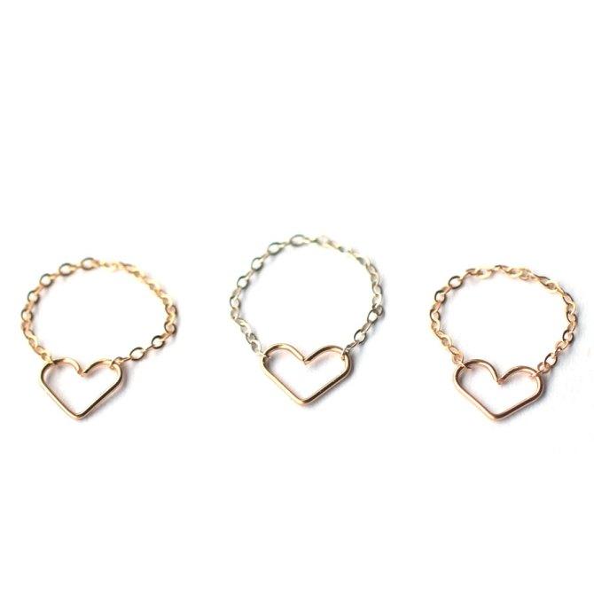 heart-ring-chain-band-dainty-rings-handmade