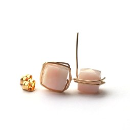 pink-wire-wrap-gold-wire-wrapped-earrings-jewelry