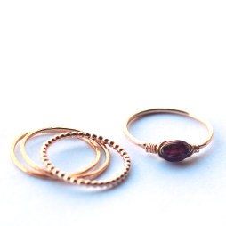stacked-rings-ruby-gemstone-birthstone-ring