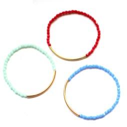 stretch-gold-tube-bracelets-handmade-jewelry