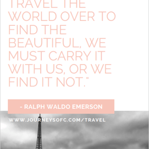 Inspiring Travel Quote Printables
