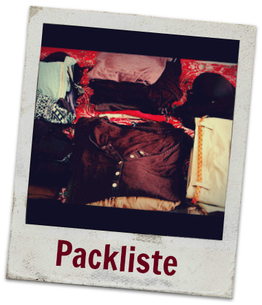 Meine ultimative Packliste