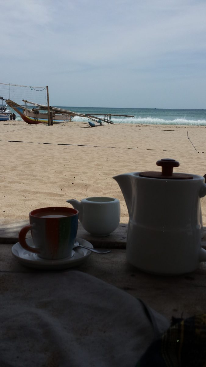 Uppuveli - Strand - Sri Lanka - Route