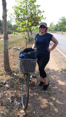 Fahrrad Angkor Wat