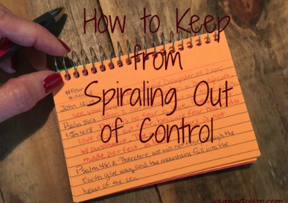 How to Keep from Spiraling Out of Control