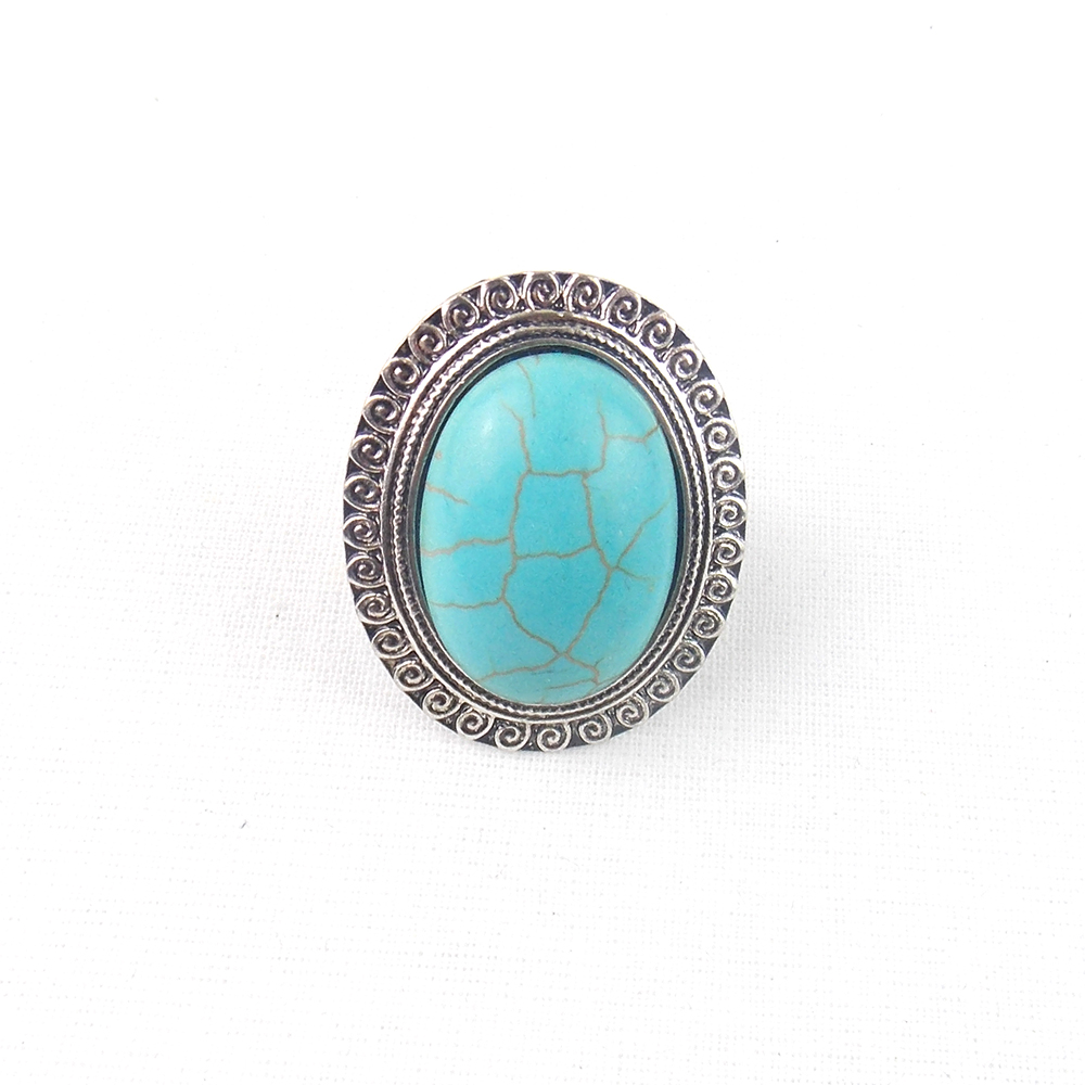 Turquoise Ring - a