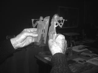 Seminario de modelado en cera y su aplicación a la fundición de metales, por Antonio Pujía