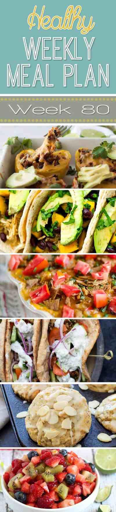 Healthy Meal Plan Week #80 | Easy Healthy Recipes