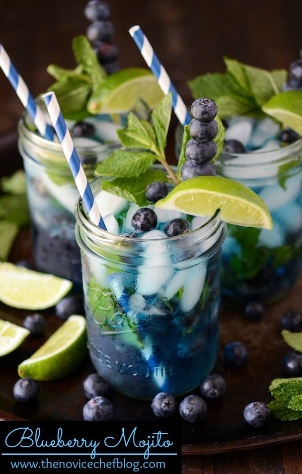 blueberry-mojito