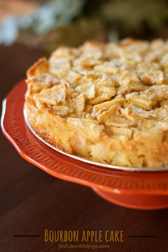 Real Simple Apple Bourbon Cake Recipe