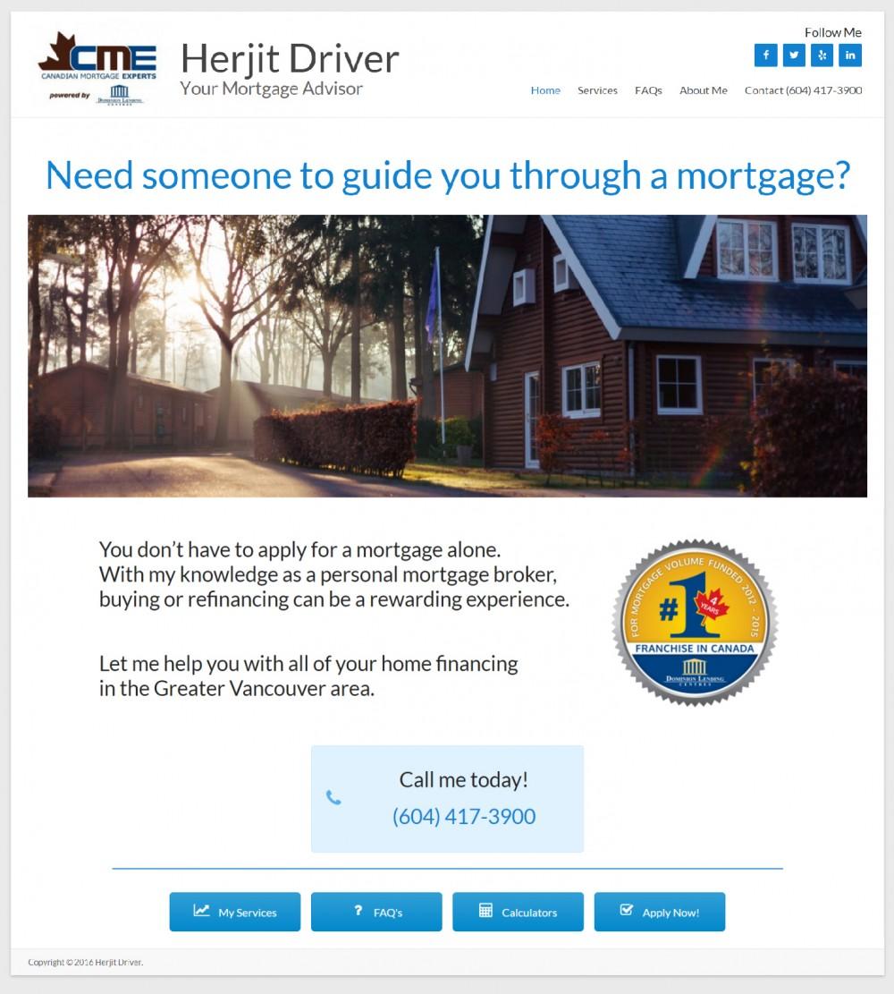 Herjit Driver - Your Mortgage Advisor