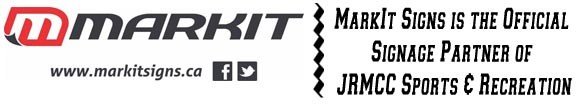 MarkIt Signs is the Official Signage Partner of JRMCC Sports & Recreation