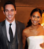 Jonathan Rhys Meyers and Reena Hammer at Fashion's Night Out