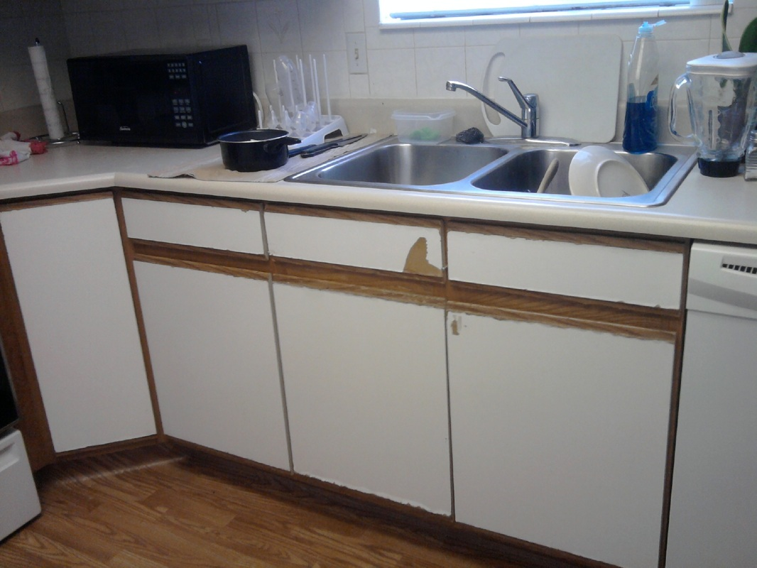 reface to update resurfacing kitchen cabinets Picture