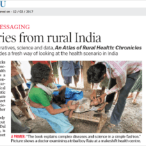 Health Stories from Rural India – A review of Atlas of Rural Health in The Hindu ePaper