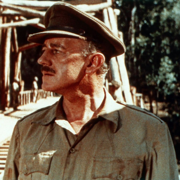 Colonel Nicholson, as played by Alec Guinness