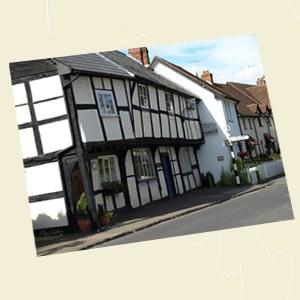 St Columba's Cottage, Weobley Postcard Angle - Ref L08