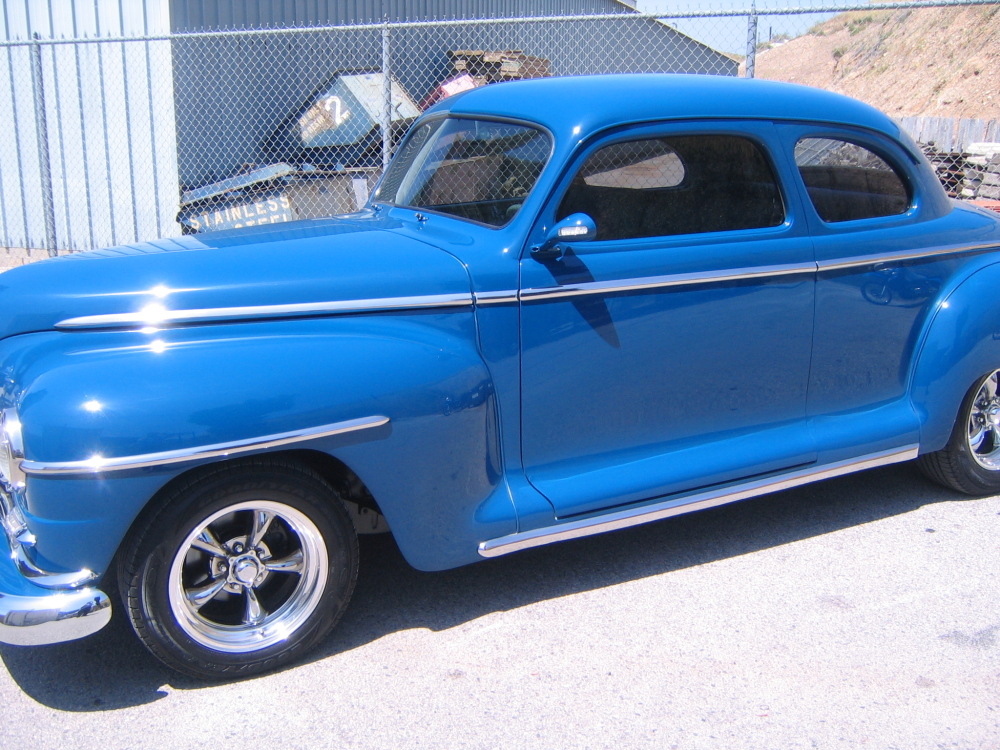 1947 plymouth coupe jt metal works for 1947 plymouth 2 door coupe