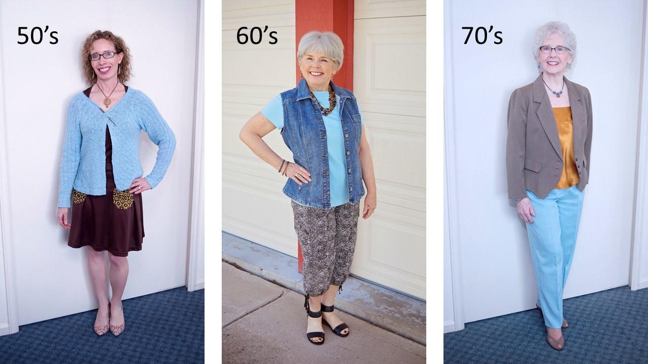 fashion for senior women