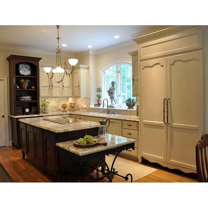 Custom Country French Kitchen Cabinets U0026 Island