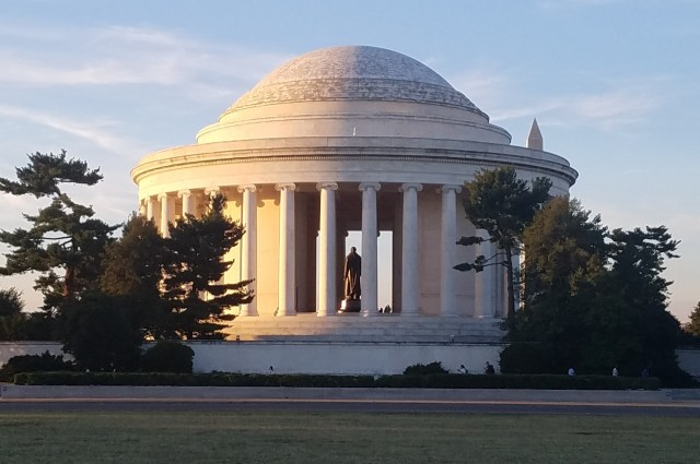 Back of the Jefferson Memorial