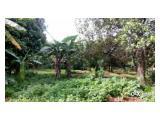 Tanah kebun belakang RSUD CILEUNGSI