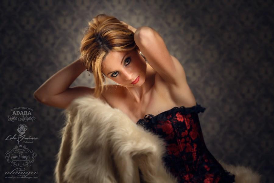 Fotografias de estudio Para Book Personal - Boudoir de Juani Fernandez